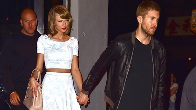 Fotos de lo que fue el romance de Taylor Swift y Calvin Harris