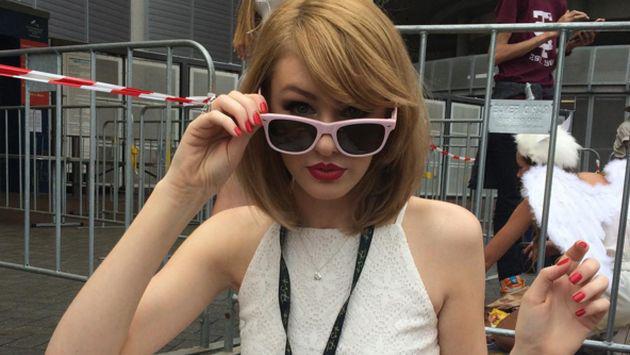 ¡Conoce a la 'gemela' de Taylor Swift que causa furor en Instagram! [GALERÍA]