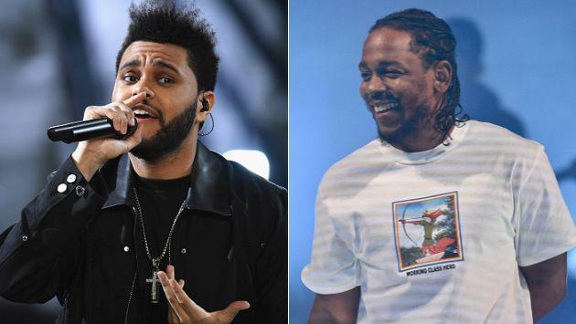Así fue la primera presentación en vivo de The Weeknd y Kendrick Lamar [VIDEO]