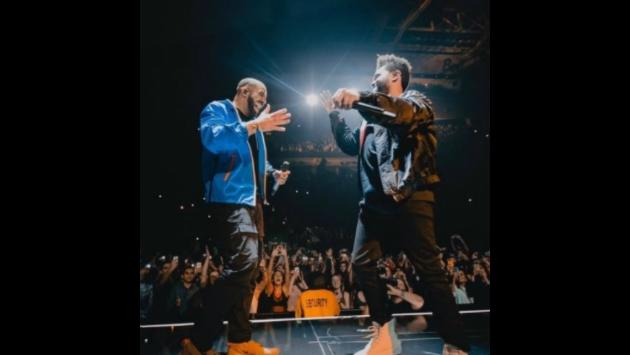 ¡The Weeknd compartió con Drake un concierto en Toronto! [VIDEO]