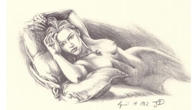 ¡Él fue quien hizo el dibujo de 'Rose DeWitt' en 'Titanic'! [VIDEO]