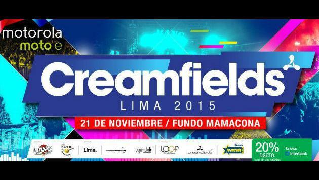 Creamfields Perú en cuenta regresiva: ¡Todo sobre el concierto del sábado 21!