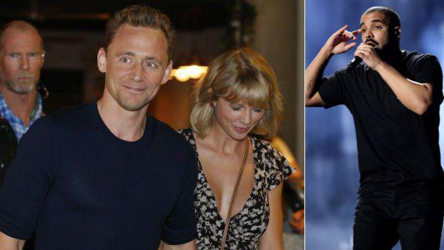 ¡Tom Hiddleston no ha tomado nada bien los rumores sobre Taylor Swift y Drake!
