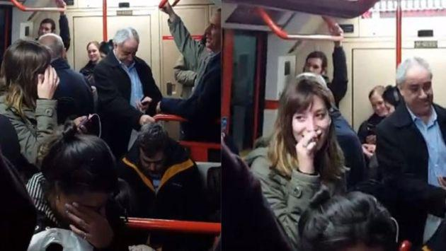 ¡Trabajadora de línea de tren olvidó apagar el micrófono y reveló intimidades a pasajeros! [VIDEO]