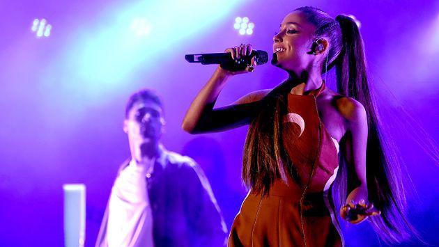 OMG! Ariana Grande lloró por esta increíble razón [FOTO]