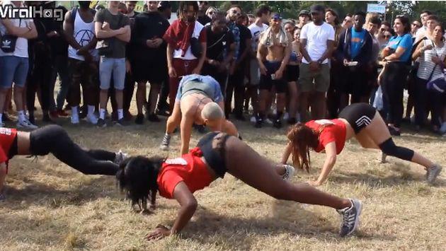 Quiso demostrar habilidad para el 'twerking', pero terminó mostrando más de la cuenta [VIDEO]
