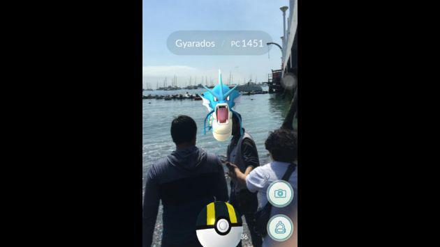 Un Gyarados de 'Pokémon GO' apareció en La Punta y esto fue lo que pasó [VIDEO]