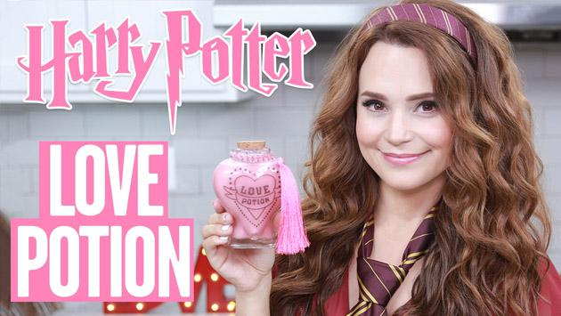 Una 'youtuber' creó la poción de amor de 'Harry Potter', Amortentia [VIDEO]