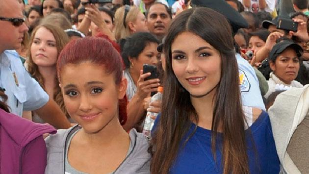 Victoria Justice respondió sobre meme y supuesta rivalidad con Ariana Grande