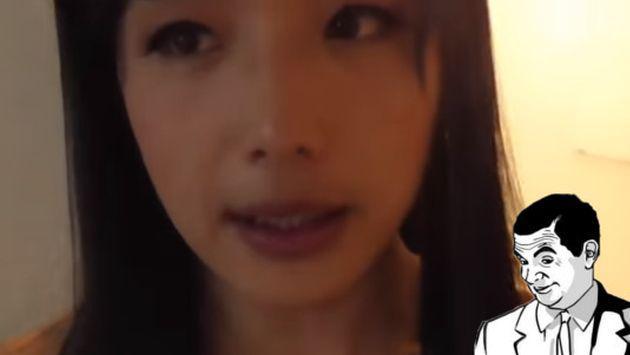 OMG! Esta guapa joven esconde un secreto que te dejará boquiabierto [VIDEO]