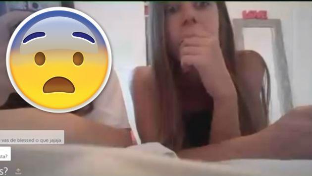 ¡Asu! ¡Encontró a su hija haciendo un video en vivo y así reaccionó!
