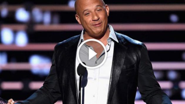 People's Choice Awards: Vin Diesel cantó en homenaje a Paul Walker [VIDEO]