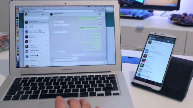 WhatsApp lanzó la primera aplicación para computadoras