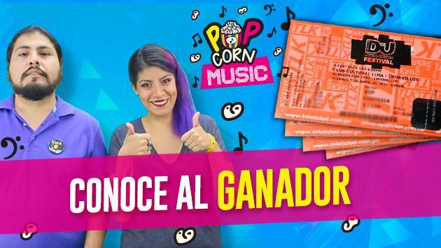 ¡Ya tenemos al ganador de las 4 entradas para el DJ Mag Festival con 'Pop Corn Music'!