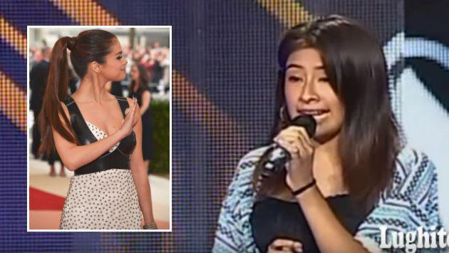 'Yo Soy': Selena Gomez tiene imitadora peruana en reality [VIDEO]