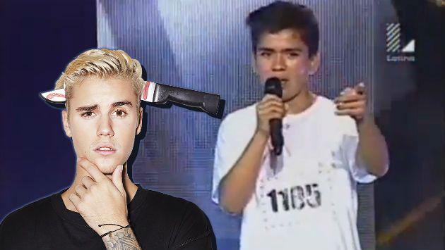 'Yo Soy': Quiso ser Justin Bieber y terminó siendo trolleado por jueces [VIDEO]
