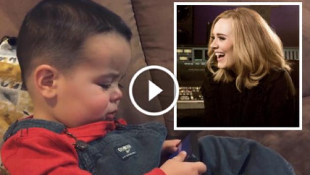 Te enternecerá cómo este bebé deja de llorar al escuchar 'Hello' de Adele [VIDEO]