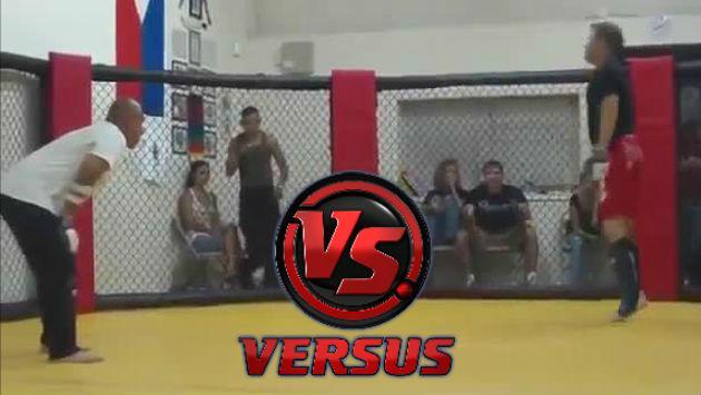 ¡Peleador de la calle retó a experto en artes marciales y este fue el resultado!