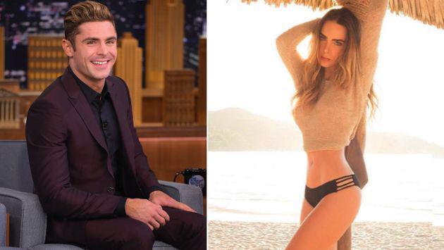 OMG! ¿Zac Efron y Belinda en salidas románticas?