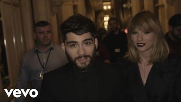 Así fue el detrás de cámaras del videoclip de Taylor Swift y Zayn Malik [VIDEOS]
