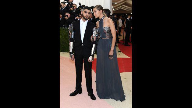OMG! Así fue la primera aparición en público de Zayn Malik y Gigi Hadid [FOTOS]