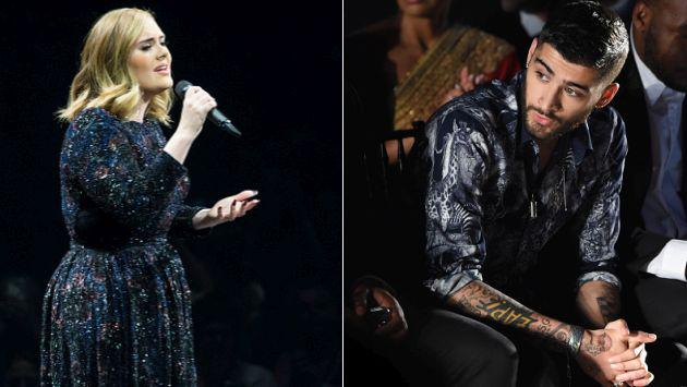 ¿Adele podría salvar la carrera de Zayn Malik?