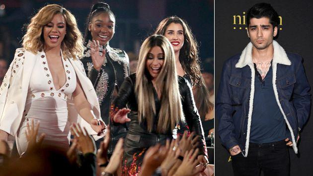 OMG! Premio que ganó Zayn Malik en verdad era de Fifth Harmony [VIDEO + FOTO]
