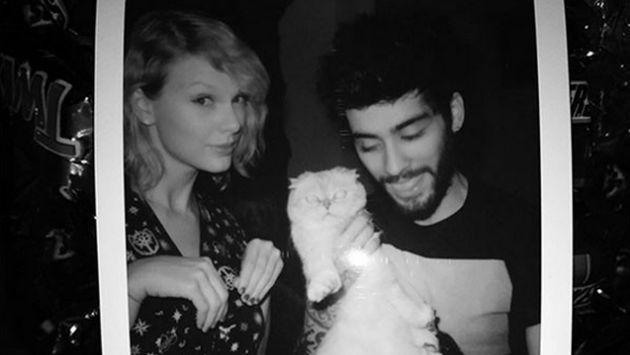 Taylor Swift y Zayn Malik filman videoclip de la canción de 'Cincuenta sombras más oscuras'