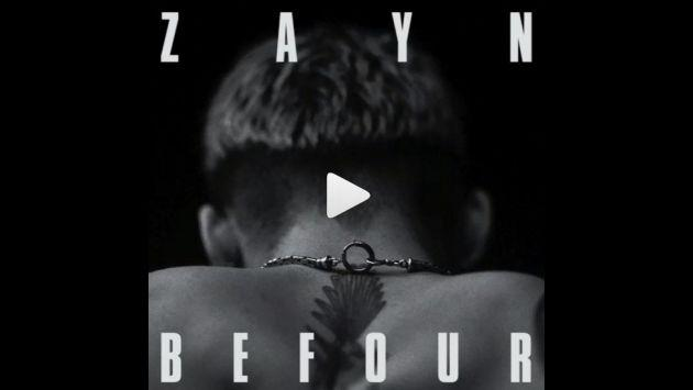 ¡Zayn Malik lanzó 'BeFoUr', nueva canción de 'Mind of Mine'! [AUDIO]