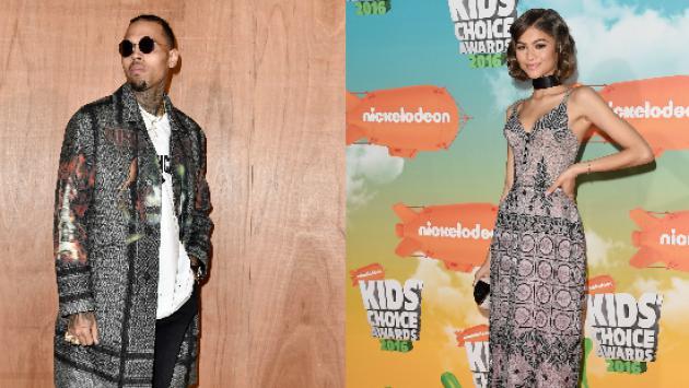 ¿Por qué Zendaya dejó de seguir a Chris Brown en Twitter?