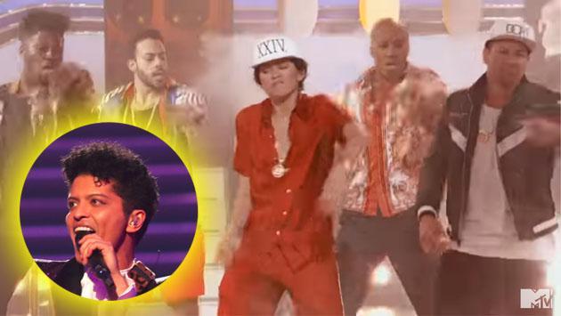 Zendaya es la mejor imitadora de Bruno Mars y con esta presentación lo demuestra [VIDEO]