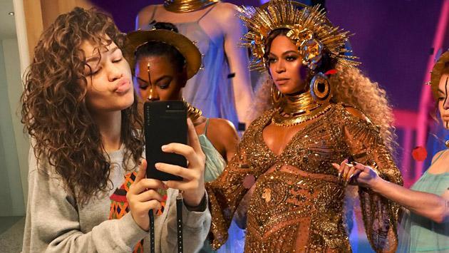 Zendaya, la más entusiasta fan de Beyoncé durante los Grammy