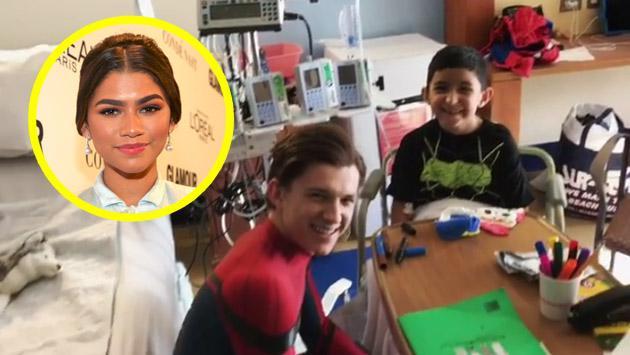 Zendaya mostró cómo un niño 'trolea' al nuevo Spiderman de Tom Holland [VIDEO]
