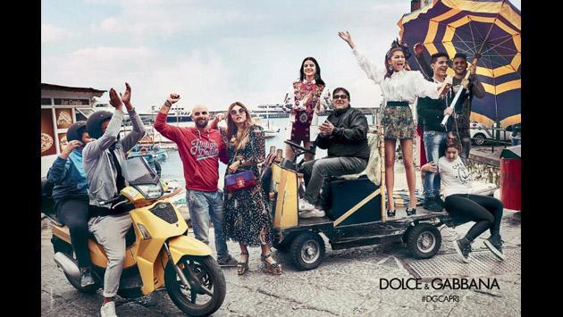 Zendaya no puede dejar de bailar en su primera campaña con Dolce & Gabbana [FOTOS]