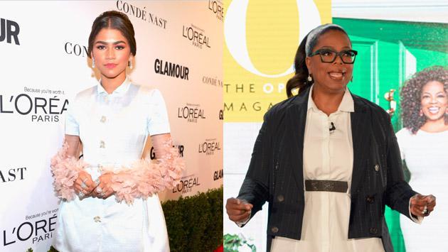 ¿Zendaya será la nueva Oprah?