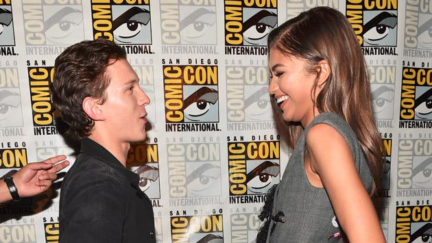 ¿Zendaya y Tom Holland iniciaron un romance real en el set de 'Spider-Man: Homecoming'?