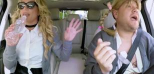 Britney Spears se subió al 'Carpool Karaoke' de James Corden y esto fue lo que pasó [VIDEO]