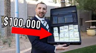 ¡Vacílate con la broma de los 100 mil dólares que la rompe en YouTube! [VIDEO]