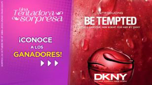 ¡Conoce a las ganadoras de las fragancias 'Be Tempted' by DKNY!