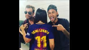 ¿Demi Lovato y Neymar juntos? 'Club de Barcelona' publicó esta foto que estremece las redes [FOTOS Y VIDEO]