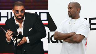 Drake disparó contra Kanye West por criticar su música