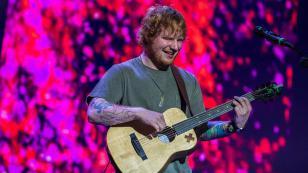 ¡Ed Sheeran volvió a los escenarios después de un año de ausencia!