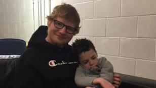 Ed Sheeran cumplió el último deseo de un niño con enfermedad terminal