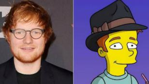 Y así es como Ed Sheeran participará en un episodio especial de 'The Simpsons'