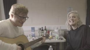 Mira aquí el acústico entre Ed Sheeran y Anne-Marie [FOTOS Y VIDEO]