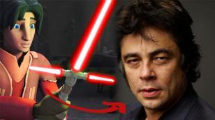 Esta podría ser la conexión de 'Star Wars 8' y la serie 'Rebels' con Benicio del Toro [VIDEO]