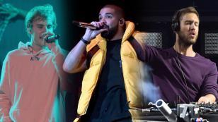 ¿Justin Bieber, Calvin Harris, Drake? Mira quién de ellos fue premiado en los Billboard Latin Music Awards