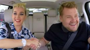 Katy Perry habla sobre Taylor Swift en 'Carpool Karaoke'
