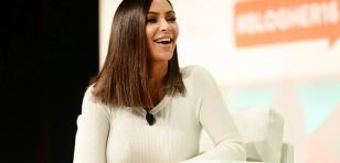 Ella es la doble que Kim Kardashian contrató para distraer a los paparazzis [FOTOS]