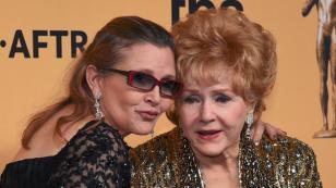 La madre de Carrie Fisher también murió… solo un día después que su hija